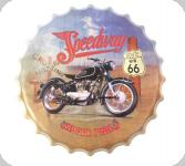 Capsule Métal Vintage  Harley Speedway Route 66