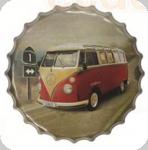 Capsule Métal Vintage Van WW rouge