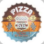 Capsule Métal Vintage Pizza