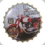 Capsule Métal Vintage Motel 66 moto