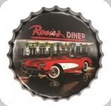 Capsule Métal Vintage Rosies Diner