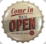 Capsule Métal Vintage open