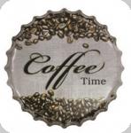 Capsule Métal Vintage Coffe Time