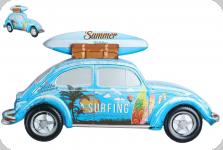 Decor mural  vintage 3D  Cox Summer Bleu