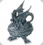 Boite œuf oval Dragon