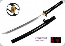 Wakisashi pratical Lame MARU / couleur noir
