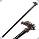 Canne épée Dragon malicieux