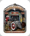 Decor mural vintage 3D / Plaque Genuine Stollen Parts