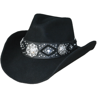 """Chapeau de cowboy western chapeau /""""lex/"""" taille 55-57 et 58-61"""