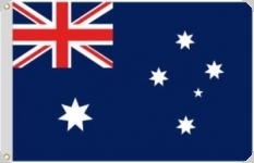 Drapeau nylon Australien  de 150 x 90