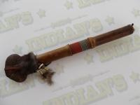 Casse tête Amérindien recouvert de Rawhide de 34 à 40 cm