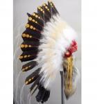 Coiffe indienne Navajo de guerre de 36 pouces  Made in USA  ( Réplique Mod.1875 )