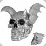 Crâne tête de mort Chauve souris