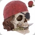 Crane tête de mort  Pirate Couteau