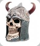 Crane tête de mort Casque celtique