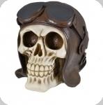 Crâne tirelire tête de mort PILOTE