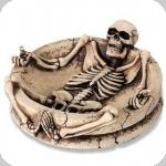 Cendrier  squelette