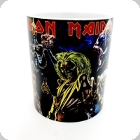 Mug Iron Maiden multiple