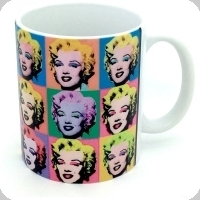 Mug Marilyne portrait multiple