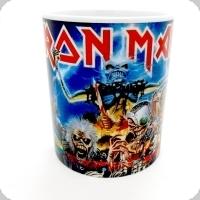 Mug Iron Maiden « les 8 1er album réédition »