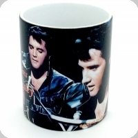 Mug Elvis Presley à la guitare