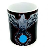 Mug  aigle NAZI rouge et bleu