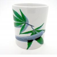 MUG  «  Pétard sur Feuille Cannabis   »