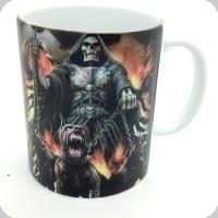 Mug squelette chevalier et chien