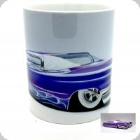 Mug  voiture américaine bleu