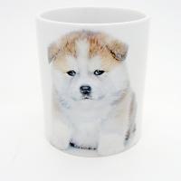 Mug  « Bébé Akita Inu  »