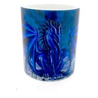 Mug  dragon bleu