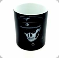 Mug oficier skull SS