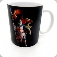 Mug chevalier avec lance
