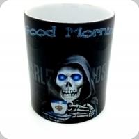 Mug Harley Davidson good morning