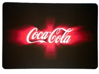 Tappis de souris   « Coca Cola Néon, »