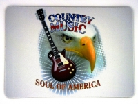 Tapis de souris  « Country Music »
