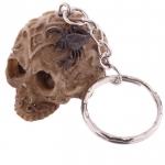 Porte clés crâne celtique scorpion