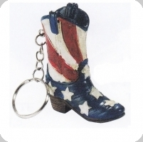 13  Porte clef  botte Cow Boy - USA