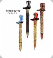 Stylo  botte Cow Boy - western  Lot de 4