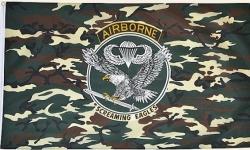Drapeau US Airborne en Nylon