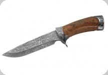 Couteau  Façon Damas