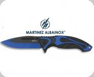 Couteau Pliant TRIBAL / Bleu et Noir