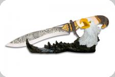 Couteau fantaisie TETE D' AIGLE