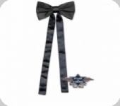 Cravate Western noire