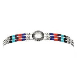 Bracelet 3 Fils Conchas Pierre multiple