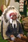 Mannequin chef indien des plaines