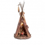 LAMPE  INDIENNE  TIPI GM