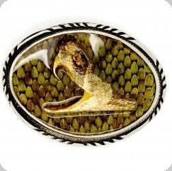 Boucle de Ceinture Serpent