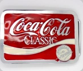 Boucle de Ceinture Coca cola Modèle d'expo