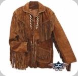 Veste à franges Western Codi